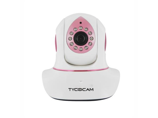 TYCOCAM SD8218W 720P HD IP/Network Camera ONVIF Night Vision Easy Installation Pink