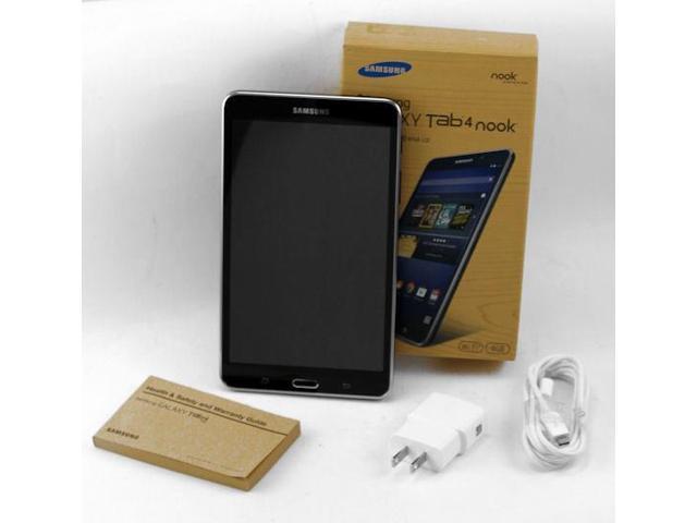 Refurbished Samsung Galaxy Tab 4 NOOK Edition 8GB Tablet WIFI 7-Inch BLACK