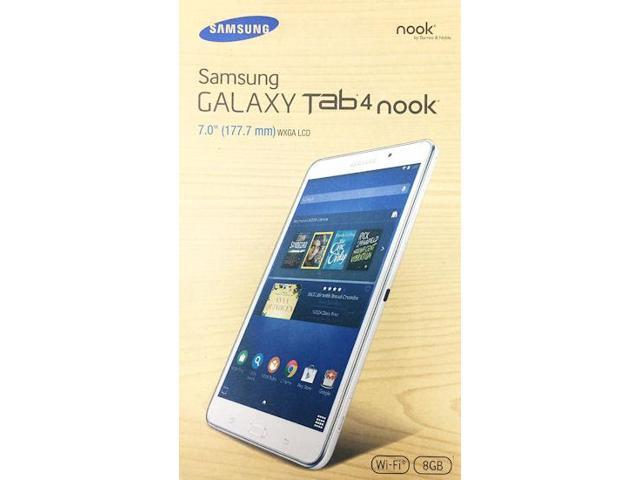 Refurbished Samsung Galaxy Tab 4 NOOK Edition 8GB Tablet WIFI 7-Inch White