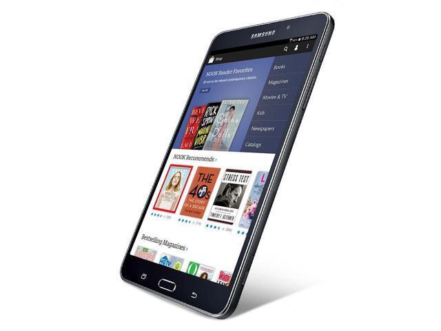 Samsung Galaxy Tab 4 SM-T230NU NOOK Barnes & Noble Black 8GB 7