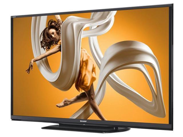 Sharp LC-70LE650 70-inch Aquos 1080p 120Hz Smart LED TV - Refurbished