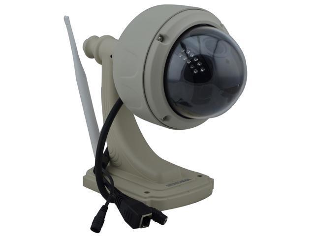 SENKAMA Outdoor Waterproof PnP 720P 1.0 MP PTZ Wireless IP Camera w/ 22-IR LED, TF, 3X Zoom, Wi-Fi