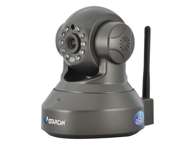 VStarcam C7837WIP 1.0MP HD P/T Pan/Tilt Wireless 2 way Audio Wifi Security Surveillance Network CCTV Cam IR Cut Night Vision Plug$&Play TF Card ...