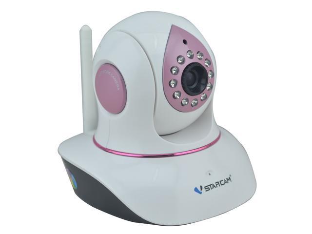VStarcam C7838WIP-B 1.0MP HD Plug&Play P2P PnP Network IP Surveillance Security Camera w/ Baby Monitor/Day/Night, 2 Way Audio PTZ IP CameraWi-Fi ...