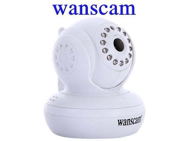 Wanscam Wireless/Wifi/Wired SD/TF Card Slot PNP Dual Audio Pan/Tilt Infrared CCTV Security Internet Network IP Camera Motion Detection Video ...