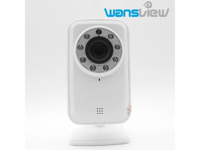 Wansview COMS P2P Infrared IR Night Vision Wireless IP Camera with Plug&Play Internet Access iPhone/Andriod/iPad/Tablet Remote View Wifi Mini ...