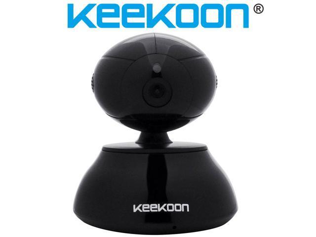 Keekoon® 1.0 Megapixel P2P Pan/Tilt Wireless IP Camera with IR-Cut Function Night Vision Surveillance Home Security CCTV IP Camera HD Indoor ...