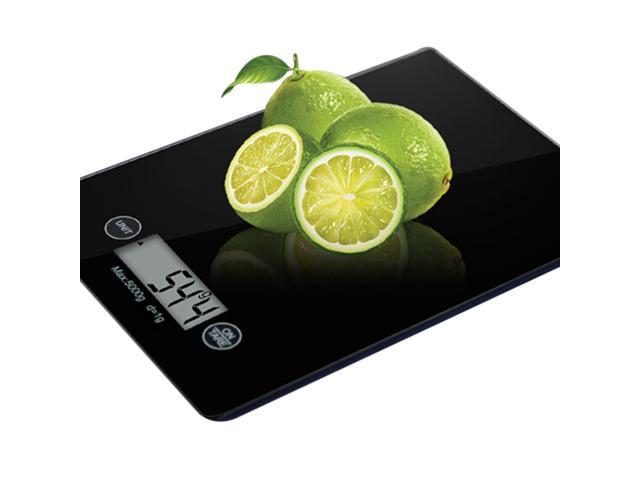 new Touch screen electronic kitchen scale medicinal scale food scale digital display electronic scale black