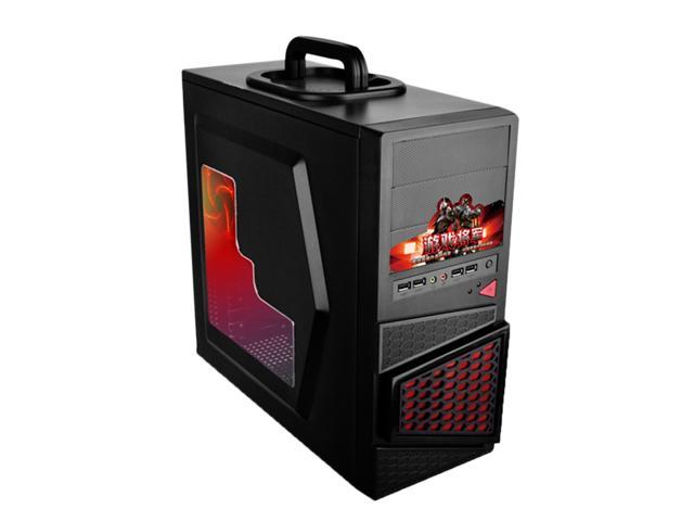 oceantree portable USB1.0 mid tower ATX gaming conputer case with USB 1.0 Desktop computer case