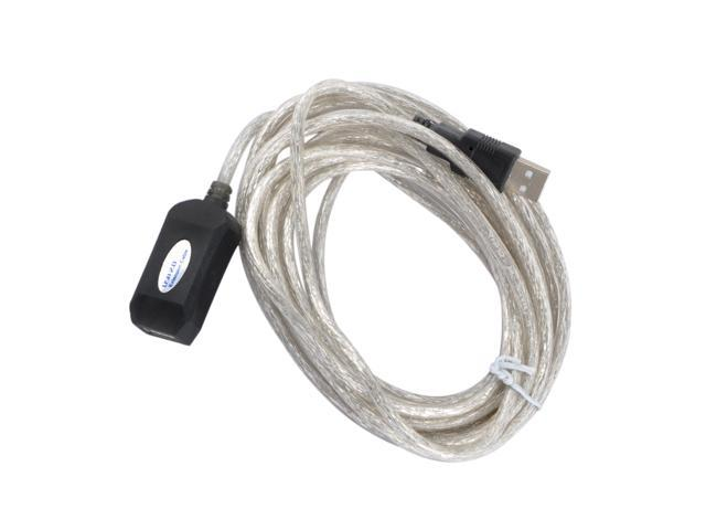 Oceantree USB 2.0 Extension Cable 32.8 Ft(10 M) - Male to Female with Gold-Plated Contacts