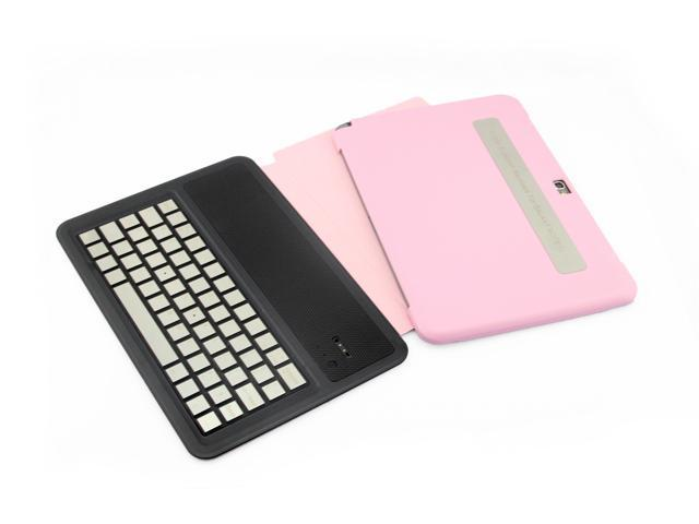 Mobile Bluetooth Keyboard Wireless 3.0 Interface Standard Keyboard For Samsung Galaxy Note 10.1 N8000 N8010 N8013 Keyboard Case with aluminum ...