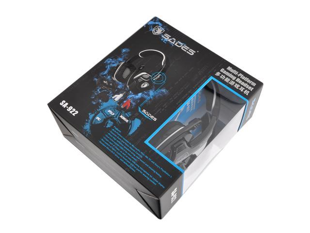 Oceantree Sades SA922 Multi-Platform WCG Gaming Stereo USB Headphone Headset With Mic For PC PS4 PS3 XBOX
