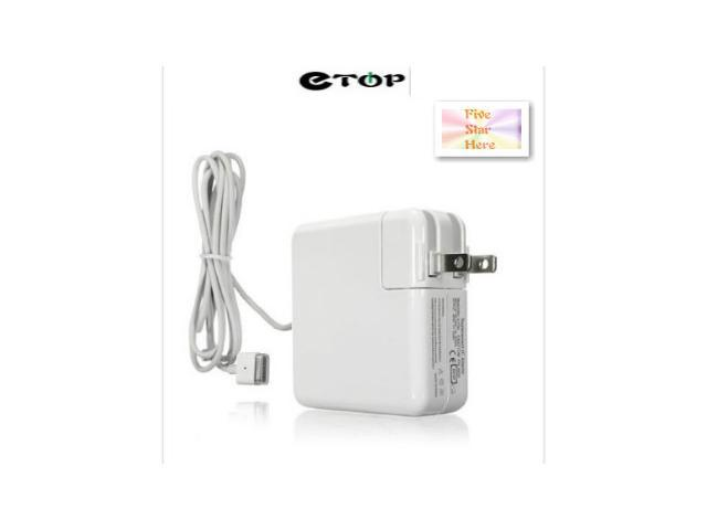 E-topTM T-tip 60W Power Adapter Charger For Apple Macbook pro A1184 A1185 A1330 A1278