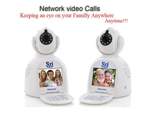 Sricam white Video Call Network Phone Camera H.264 WIFI skypecam