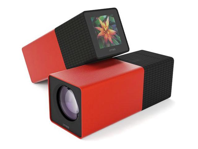 Lytro Light Field Camera with Slip Case - 16GB - Red Hot. 16GB storage captures 750 living pictures 8x optical zoom lens with constant f/2 ...