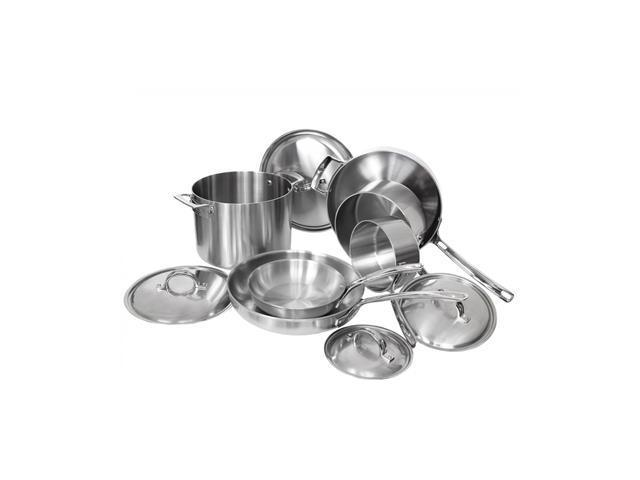 Viking 3-Ply, 10-Piece Cookware Set