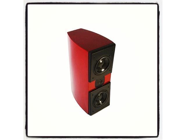Acoustic Zen Adagio Junior Bookshelf Loudspeaker Ferrari Red Finish