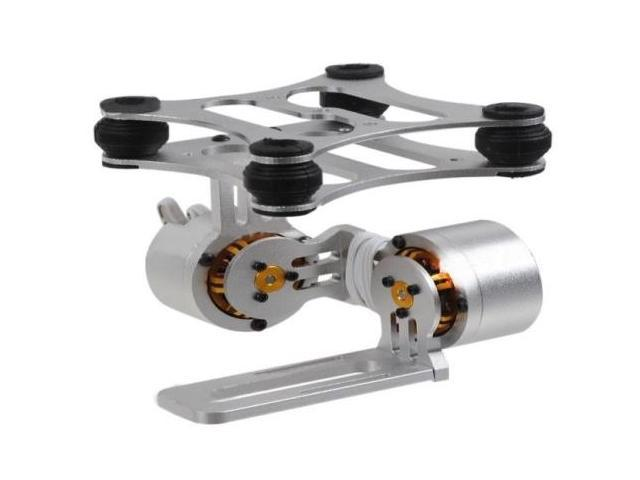 DIY CNC Gopro Hero3 Metal Camera Gimbal Mount for DJI Phantom X525 F450 F550