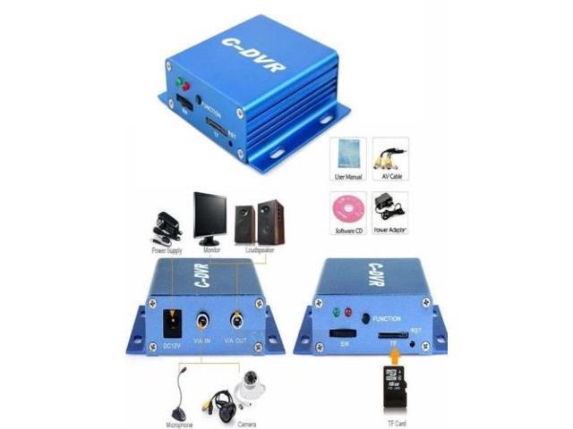 FPV Mini C-DVR Digital Video Audio Recorder for Motion Long Range Ground Station