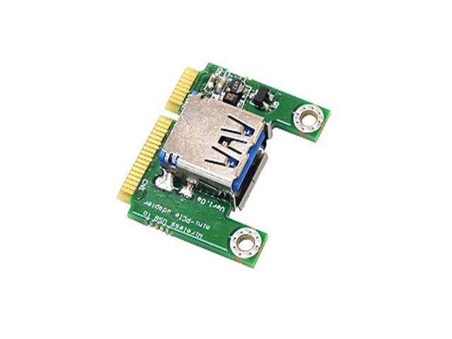 Minicard PCI-E PCI Express to USB 2.0 Adapter Extender Riser Card Expansion