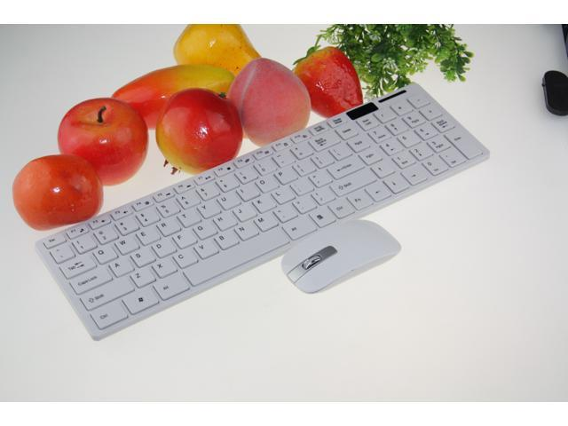 have the number keys 2.4 G wireless keyboard mouse set applies to desktop computers, notebook computers