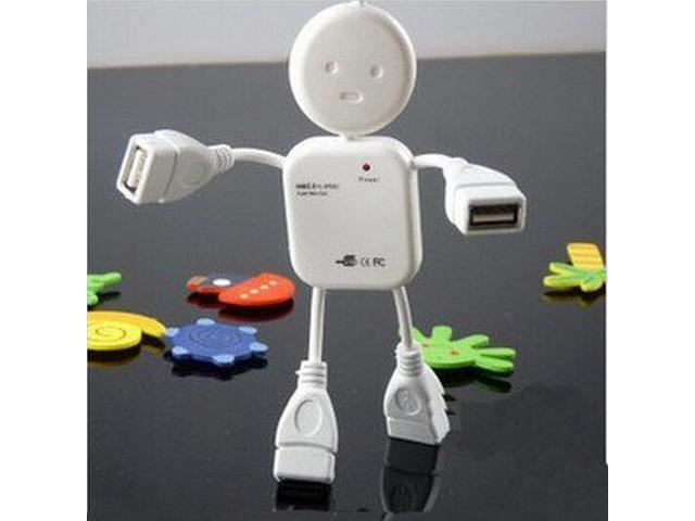 Topwin High Speed Little Human Shape robot 4 Port USB Hub