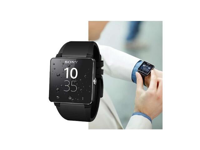 Sony Universal SmartWatch 2 SW2 with Bluetooth One Touch NFC for Smartphones with Android 4.0 - Sony Smart Watch SW2 for Android Phones