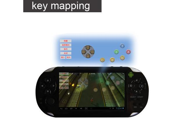 Bestdown C4302 Power Play Gaming Tablet - Button Mapping Tool, Single Core 1.2GHz CPU, Android 4.0, Resistance Touch Screen, G-Sensor, HDMI (Black)