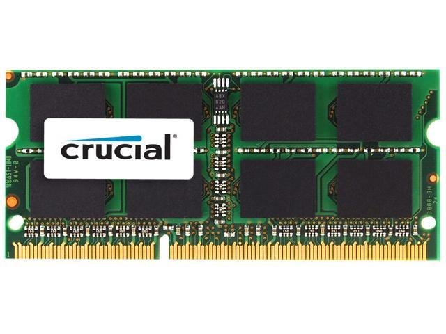Crucial 8GB DDR3 1333MHz CL11 1.35V PC3-10600 SODIMM 204 pin Laptop Memory CT102464BF1339