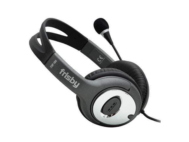 New High Bass Digital Headphone Headset with MIc & Vol Ctrl Black Volume Control Ear-Cup