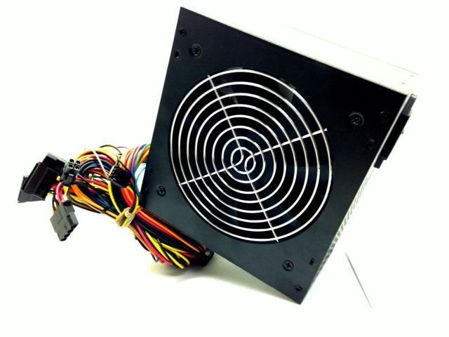 KENTEK 650W ATX Black SATA PCIE 12CM Fan Power Supply Quiet (SaveMart)