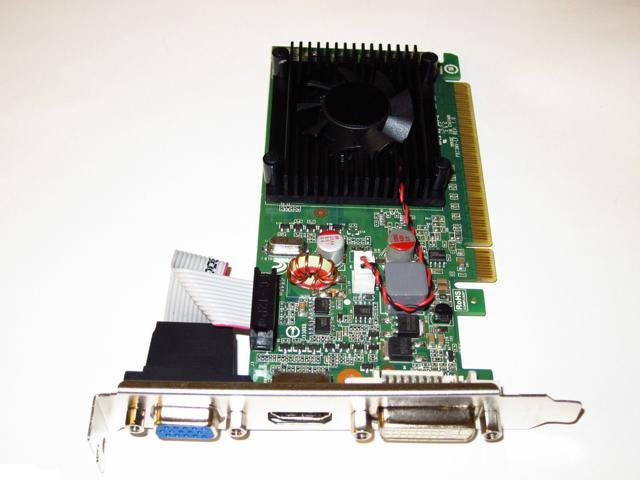 New nVIDIA GeForce 8400 GS Single Slot PCI Express PCI-E x16 DVI+HDMI+VGA Video Graphics Card with Fan 1GB (SaveMart)
