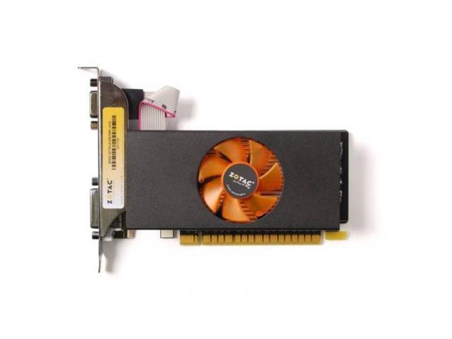 New ZOTAC Video Card NVIDIA GeForce GT 730 2GB GDDR5 VGA-DVI-HDMI Low Profile pci-e (SaveMart)