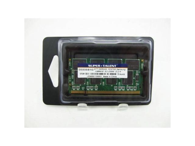 1GB DDR-333MHz PC2700 SO-DIMM DDR333 Laptop BGA Memory