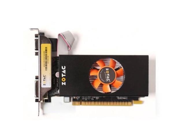 New ZOTAC NVIDIA Video Card GeForce GTX 750 1GB GDDR5 DVI/VGA/HDMI Low Profile PCI-Express (SaveMart)