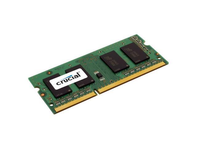 Crucial 4GB DDR3-1333MHz PC3-10600 1.35V 204pin SO-DIMM Laptop RAM Memory