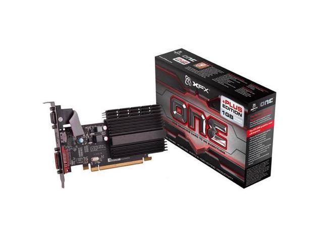 New XFX Video Graphics Card AMD Radeon HD 5450 1 GB GDDR3 VGA/DVI/HDMI Low Profile PCI-Express 1GB(SaveMart)