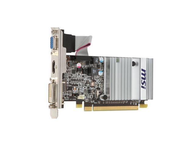 New MSI Video Graphics Card AMD Radeon HD 5450 1 GB GDDR3 VGA/DVI/HDMI PCI-Express 1GB(SaveMart)