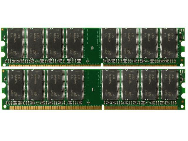 2G (2*1GB) DDR-333MHz PC2700 184-Pin DIMM Unbuffered Dell Precision Workstation 360