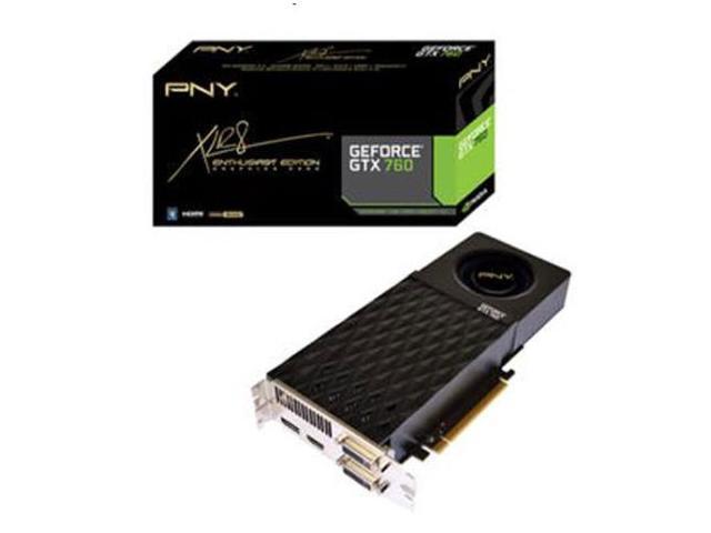 New PNY NVIDIA GeForce GTX 760 2GB GDDR5 2DVI-HDMI-DisplayPort pci-e Video Graphics Card(SaveMart)