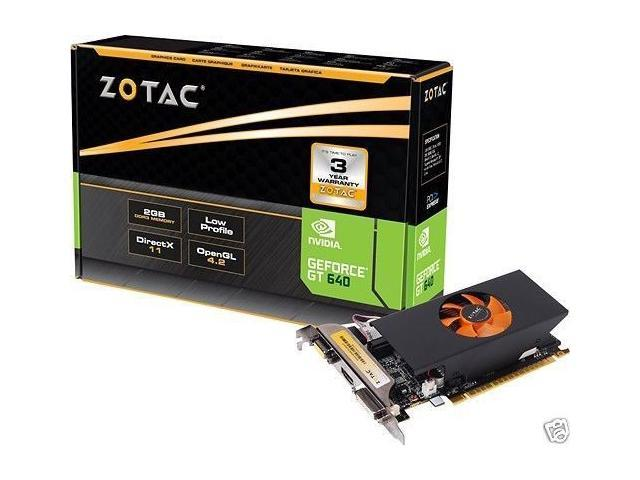 New Zotac Geforce GT 640 2GB 128bit DDR3 PCI-E Video Card(SaveMart)