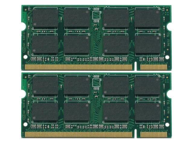 4GB Kit (2x2GB) 200-Pin DDR2-667MHz SODIMM Memory for Apple MacBook Pro 2.2GHz (13-inch White) MB062LL/B