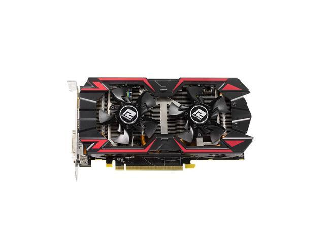 New PowerColor TurboDuo AMD Radeon R9 285 2GB GDDR5 OC 2DVI/HDMI/DisplayPort PCI-Express Video Card(SaveMart)