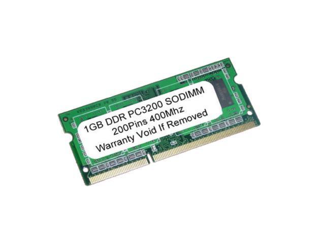 1GB PC3200 DDR-400MHz 200Pin SODIMM UnBuffered LAPTOP MEMORY