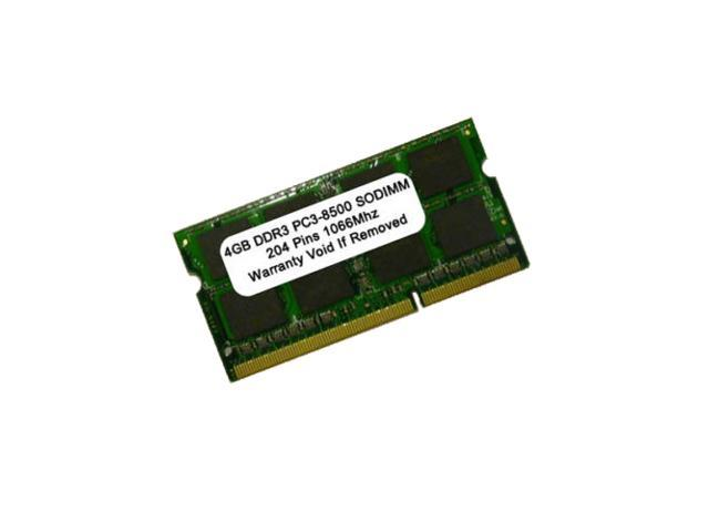 4GB (1X4GB) DDR3-1066MHZ PC3-8500 SODIMM FOR MAC AND PC PC3-8500 Laptop memory
