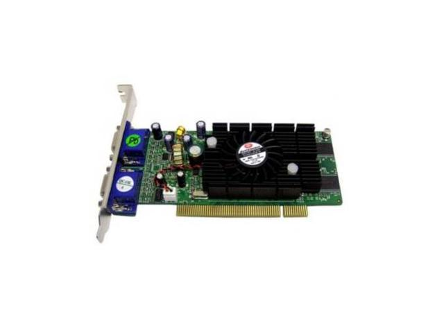 New Jaton VIDEO-228PCI-TWIN NVIDIA GeForce FX5200 128MB DDR PCI Video Card(SaveMart)
