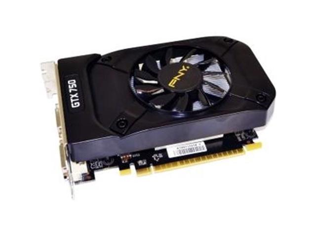 PNY GeForce GTX 750 Graphic Card - 1020 MHz Core - 1 GB GDDR5 SDRAM - PCI Express 3.0 x16