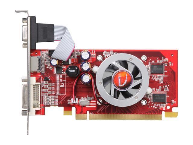 New VisionTek ATI Radeon HD 4350 512MB 64-Bit DDR2 PCI Express 2.0 x16 Low Profile Ready Video Card(SaveMart)