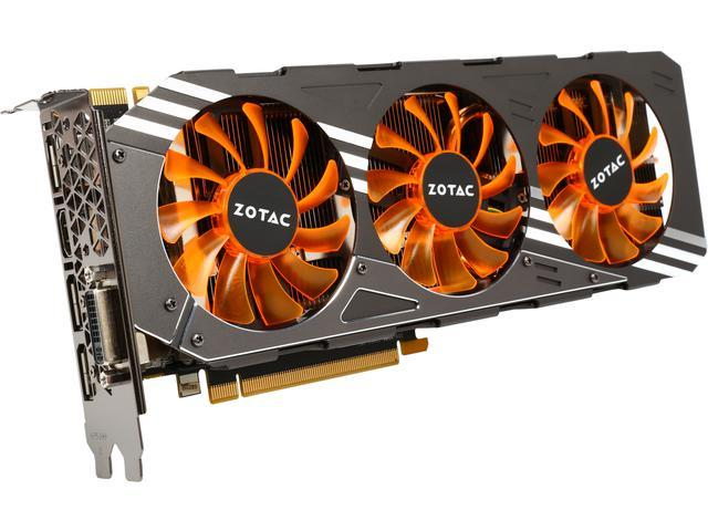 C GeForce NVIDIA GTX 980 AMP! ZT-90204-10P G-SYNC Support 4GB 256-Bit 1.17 GHz Core GDDR5 HDCP Ready Video Card(SaveMart)