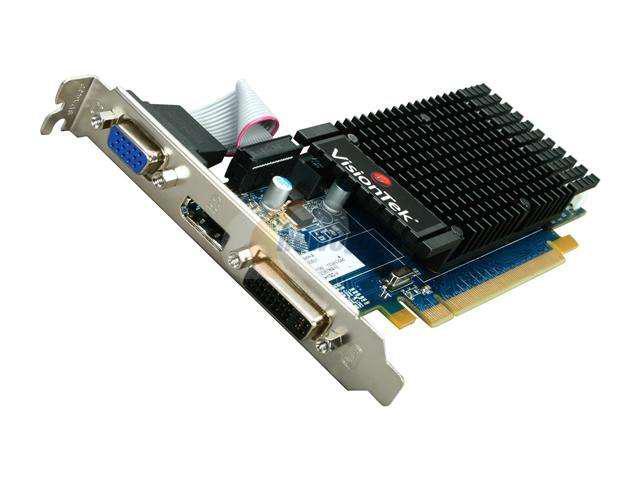 New VisionTek 900315 Radeon HD 5450 (Cedar) 1GB 64-Bit DDR3 PCI Express 2.1 x16 HDCP Ready Low Profile Ready Video Card(SaveMart)